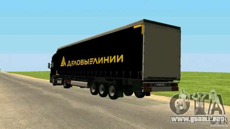 Scania 114L para GTA San Andreas left