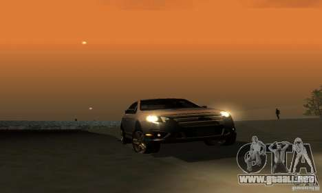 Ford Fusion Sport para visión interna GTA San Andreas
