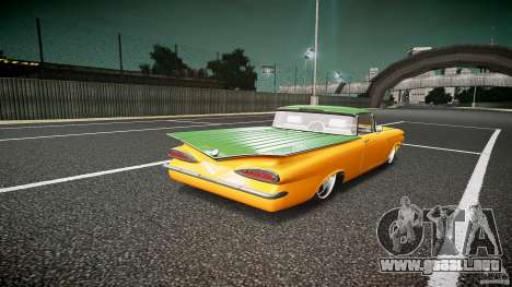 Chevrolet El Camino Custom 1959 para GTA 4 vista lateral