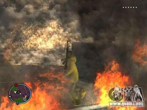 Project Reality mod beta 2.4 para GTA San Andreas segunda pantalla