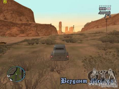 GTA IV  San andreas BETA para GTA San Andreas séptima pantalla