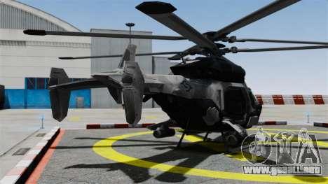 Helicóptero C.E.L.L. para GTA 4 Vista posterior izquierda