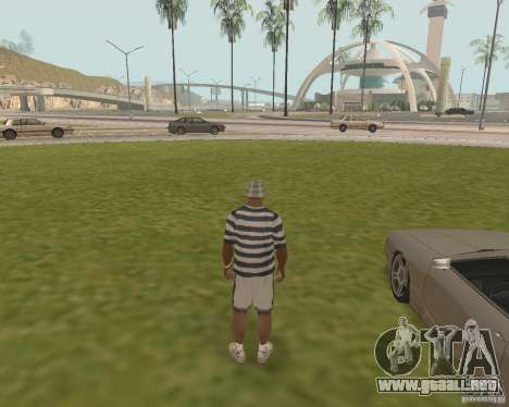Salida de emergencia coche para GTA San Andreas