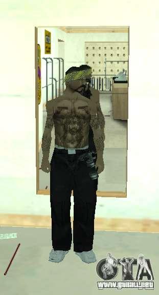 Vagos Gang Skins para GTA San Andreas sucesivamente de pantalla