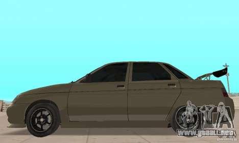 LADA 21103 v.1.1 para GTA San Andreas vista posterior izquierda
