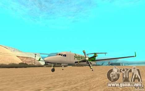 Beechcraft B1900D para la visión correcta GTA San Andreas