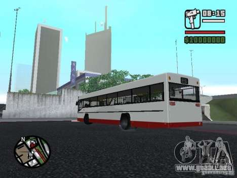MAN SL 202 para GTA San Andreas left