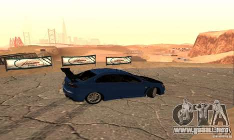 New Drift Zone para GTA San Andreas sexta pantalla