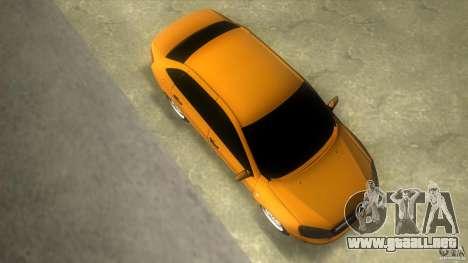 Lada Granta para GTA Vice City visión correcta
