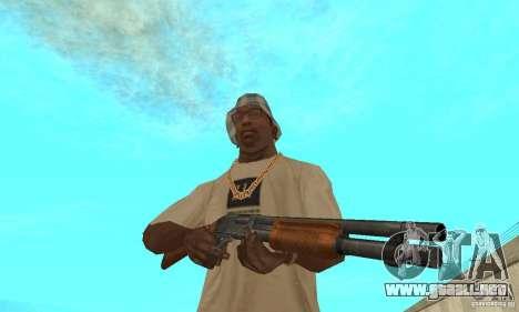 M870 para GTA San Andreas tercera pantalla
