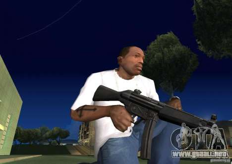 Weapon Pack by viter para GTA San Andreas sexta pantalla