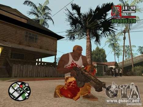 BulletStorm M4 para GTA San Andreas