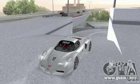 Ferrari FXX para la visión correcta GTA San Andreas