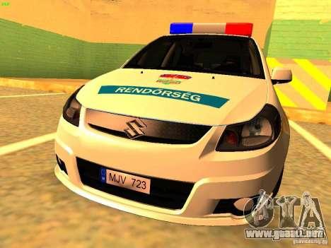 Suzuki SX-4 Hungary Police para GTA San Andreas