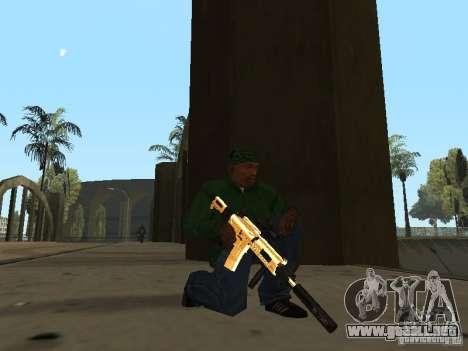 Armas de Pak de oro para GTA San Andreas