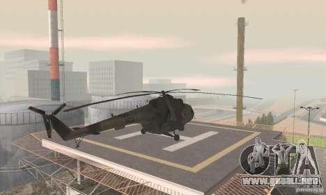 MI-17 para GTA San Andreas left