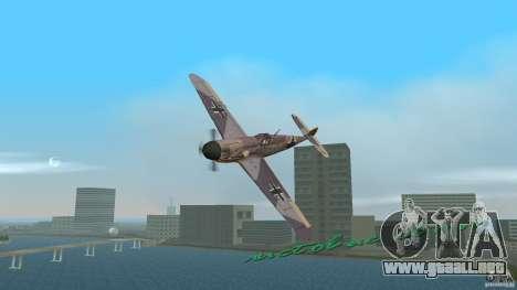 WW2 War Bomber para GTA Vice City