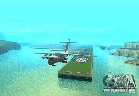 Aeroflot IL de 76 m para la visión correcta GTA San Andreas