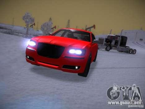Chrysler 300C SRT8 2011 para GTA San Andreas vista hacia atrás