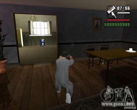 Micro UZI para GTA San Andreas tercera pantalla