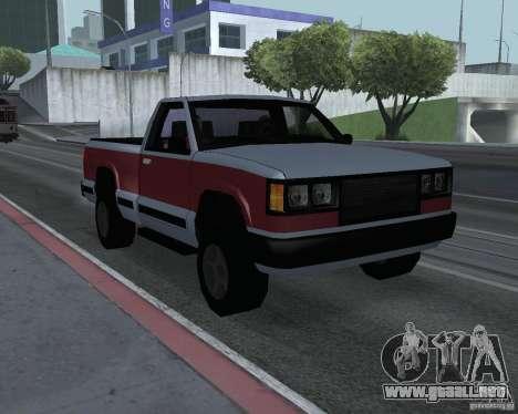 Nuevas máquinas de textura para GTA San Andreas séptima pantalla