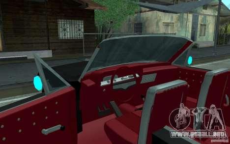 Chevrolet Impala SS 1964 para vista inferior GTA San Andreas