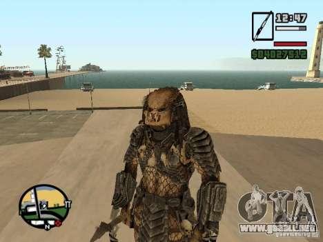 Predator Predator para GTA San Andreas tercera pantalla