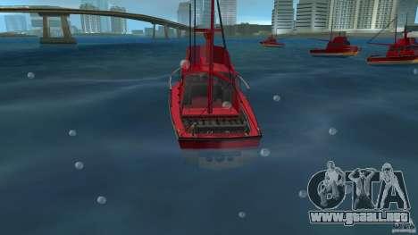 Reefer for Vice City para GTA Vice City vista lateral izquierdo