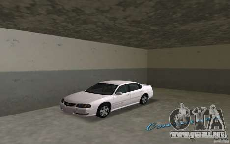 Chevrolet Impala SS 2003 para GTA Vice City left