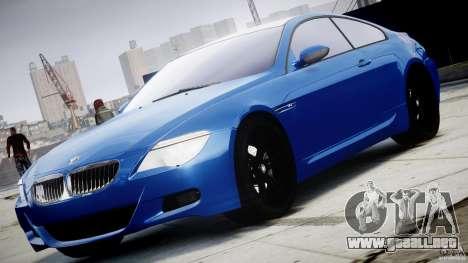 BMW M6 Orange-Black Bullet para GTA 4