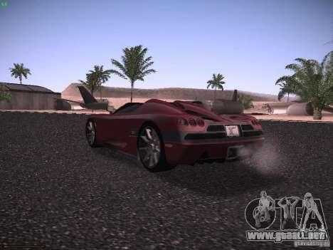 Koenigsegg CCX 2006 para la visión correcta GTA San Andreas
