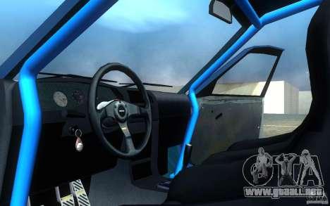 Nissan Pulsar GTI-R (RNN14) para visión interna GTA San Andreas