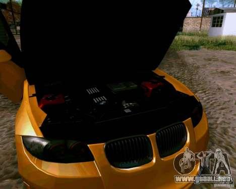 BMW 135 Tuning para visión interna GTA San Andreas