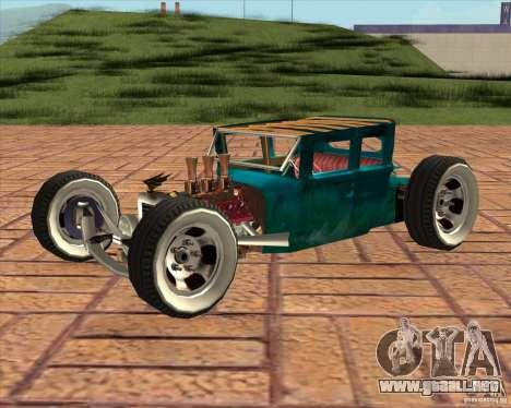 Ford model T 1925 ratrod para GTA San Andreas