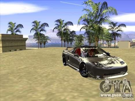 Acura NSX Tuned para visión interna GTA San Andreas