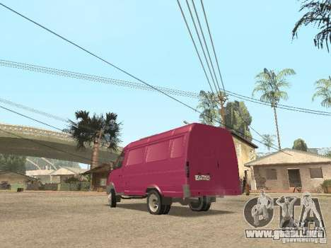 2705 Gacela para GTA San Andreas interior