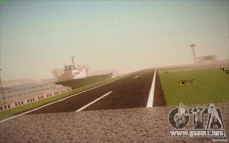 New San Fierro Airport v1.0 para GTA San Andreas octavo de pantalla