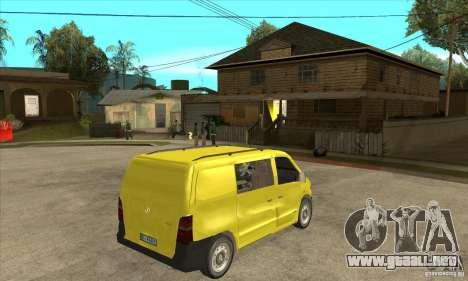 Mercedes-Benz Vito 112CDI para la visión correcta GTA San Andreas