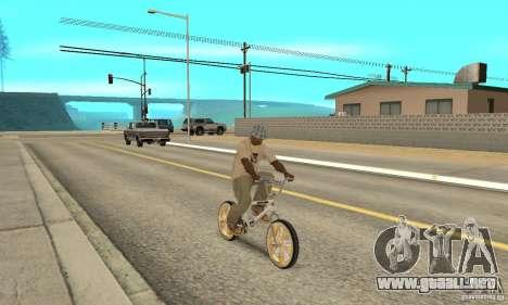 Spin Wheel BMX v2 para la visión correcta GTA San Andreas