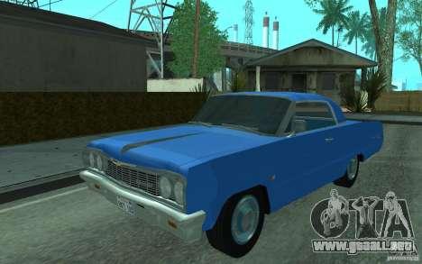 Chevrolet Impala SS 1964 para GTA San Andreas left