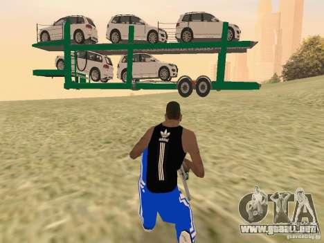 Car Transporter para la visión correcta GTA San Andreas