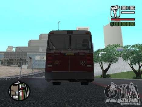 DAF CSA 1 City Bus para la visión correcta GTA San Andreas