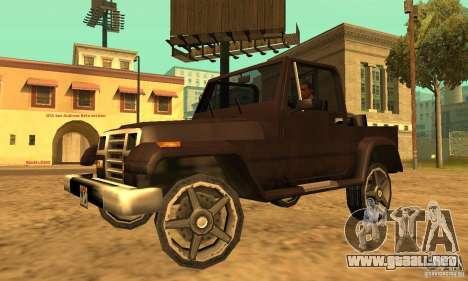 Mesa From Beta Version para GTA San Andreas