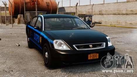 FBI Pinnacle ESPA para GTA 4