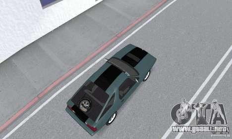 Dodge Daytona Turbo CZ 1986 para GTA San Andreas vista posterior izquierda