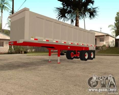 Remolque basculante Artict3 para GTA San Andreas