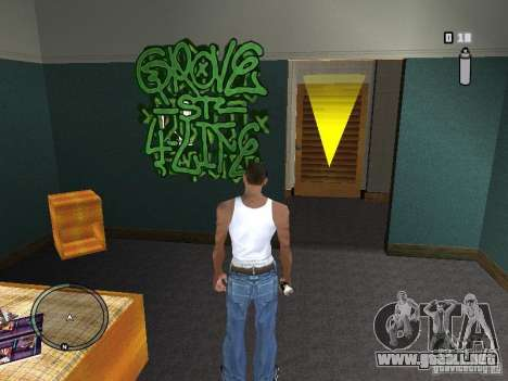 My Gang Tags para GTA San Andreas