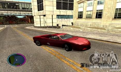 Axis Piranha Version II para la visión correcta GTA San Andreas