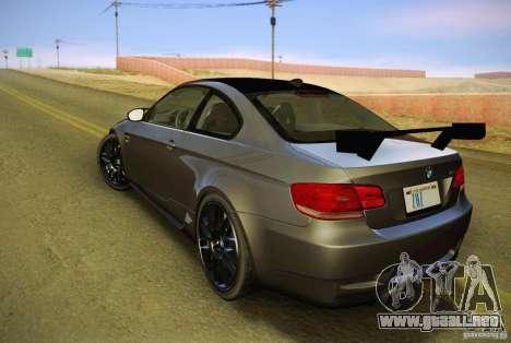 BMW M3 GT-S Final para GTA San Andreas left