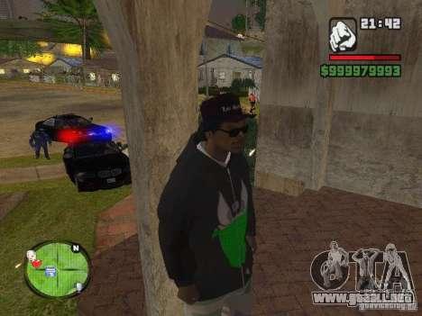 NEW Ryder para GTA San Andreas sexta pantalla